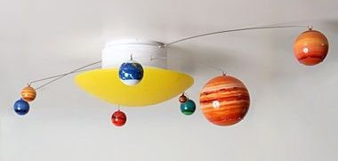Rotating planets ceiling light | Playroom Ideas in 2019