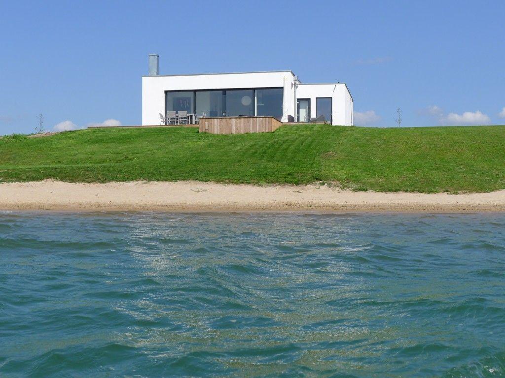 Haus am See mit Privatstrand C im Leipziger Land: 3 Schlafzimmer ...