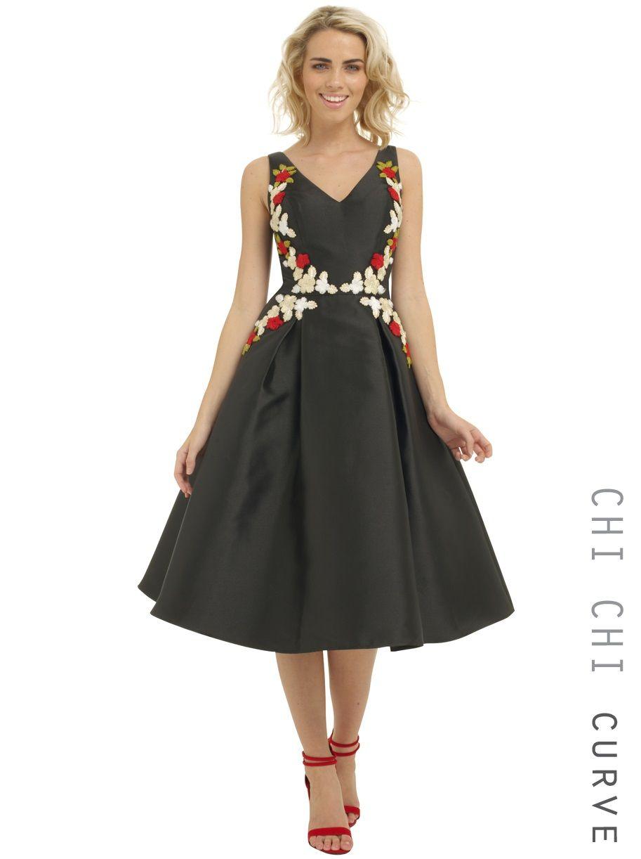 Wedding dresses department stores  Chi Chi Curve Deanna Dress  FashionToDieFor  Pinterest  Chi chi