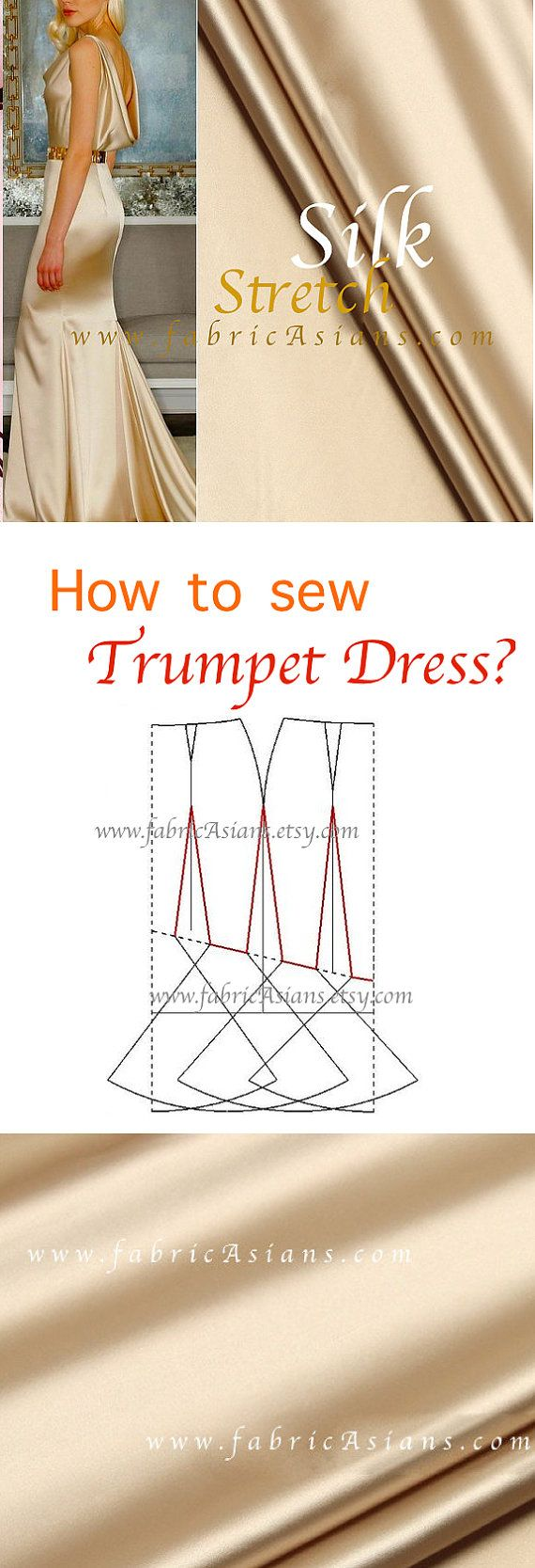 How To Sew Trumpet Dress Pattern Free Pdf Evening Dress