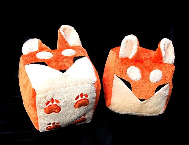 Orange Boxfox Plush