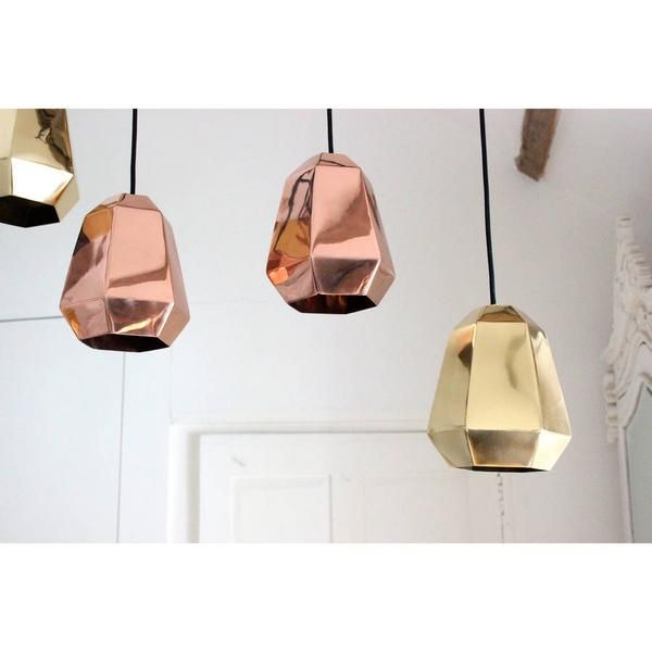 Copper\'s very on trend - these lights are from @notonthehighst ...