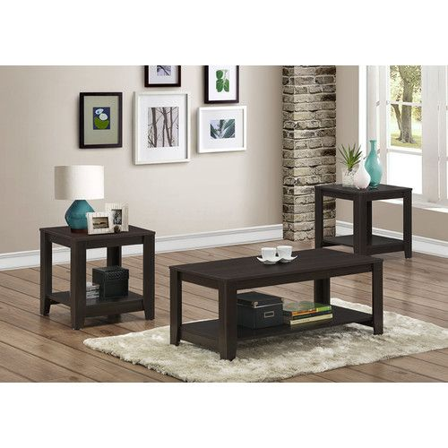 Best Found It At Wayfair Ca 3 Piece Coffee Table Set Coffee 400 x 300