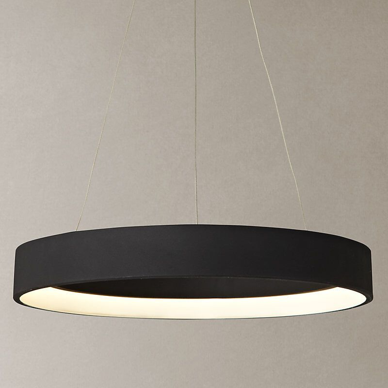 John Lewis Partners Jorgen Led Hoop Ceiling Pendant White Ceiling Pendant Led Hoops Ceiling Lights
