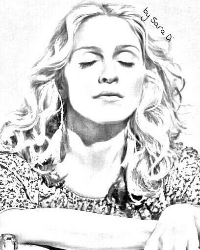 Madonna Art. Sobstitute for Love. By SaraDi. ❤💗💗