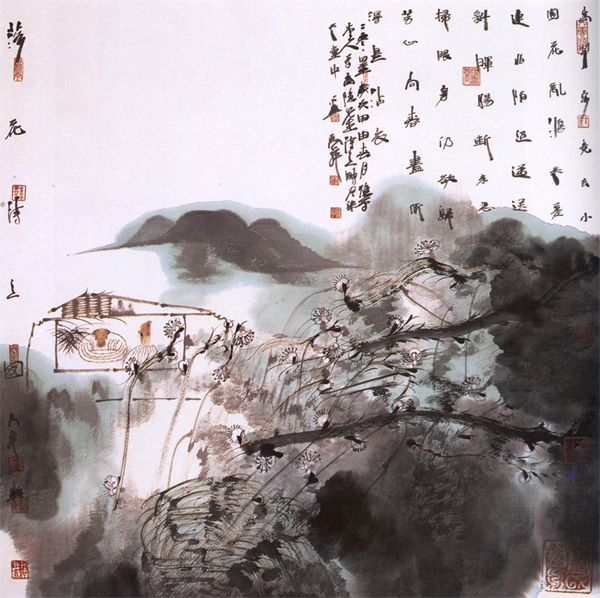 卢禹舜国画欣赏 - Arting365 | 中国创意产业第一门户]