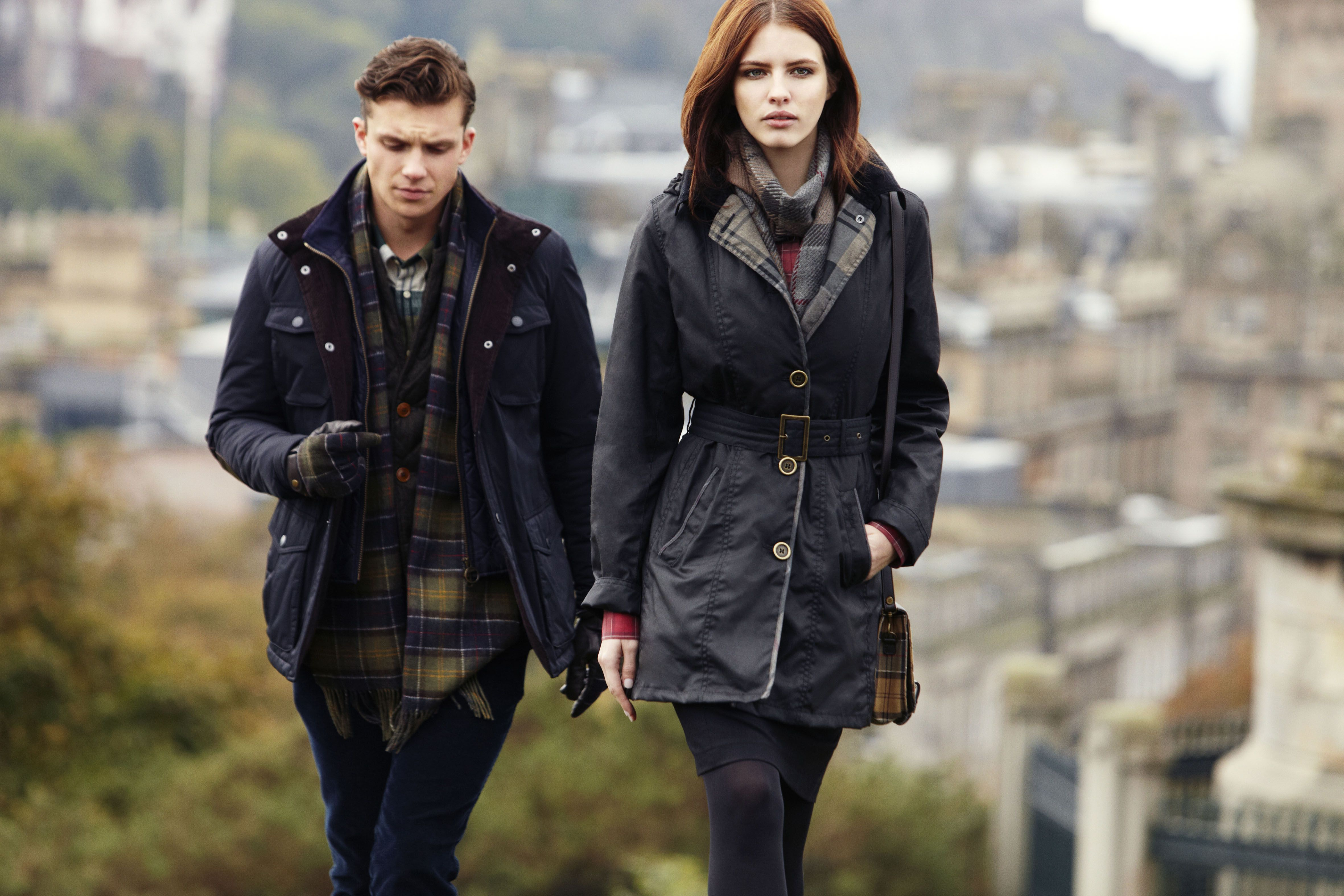 Introducing the women s Winter Tartan Collection - http   www.barbour.com ad6b77597c4d