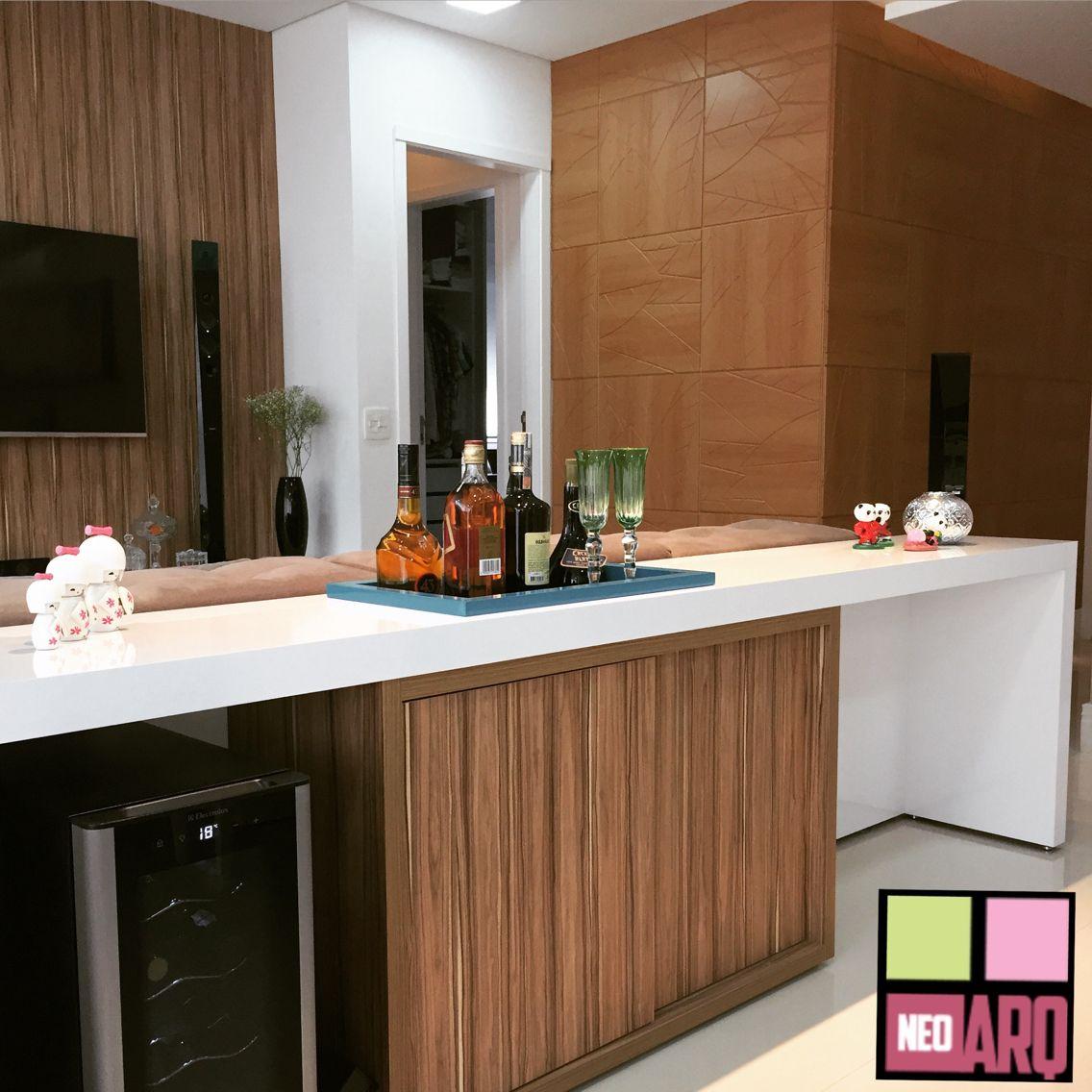 Aparador E Home Bar Voltado Para Sala De Jantar Destaque Para  # Muebles Gismobel