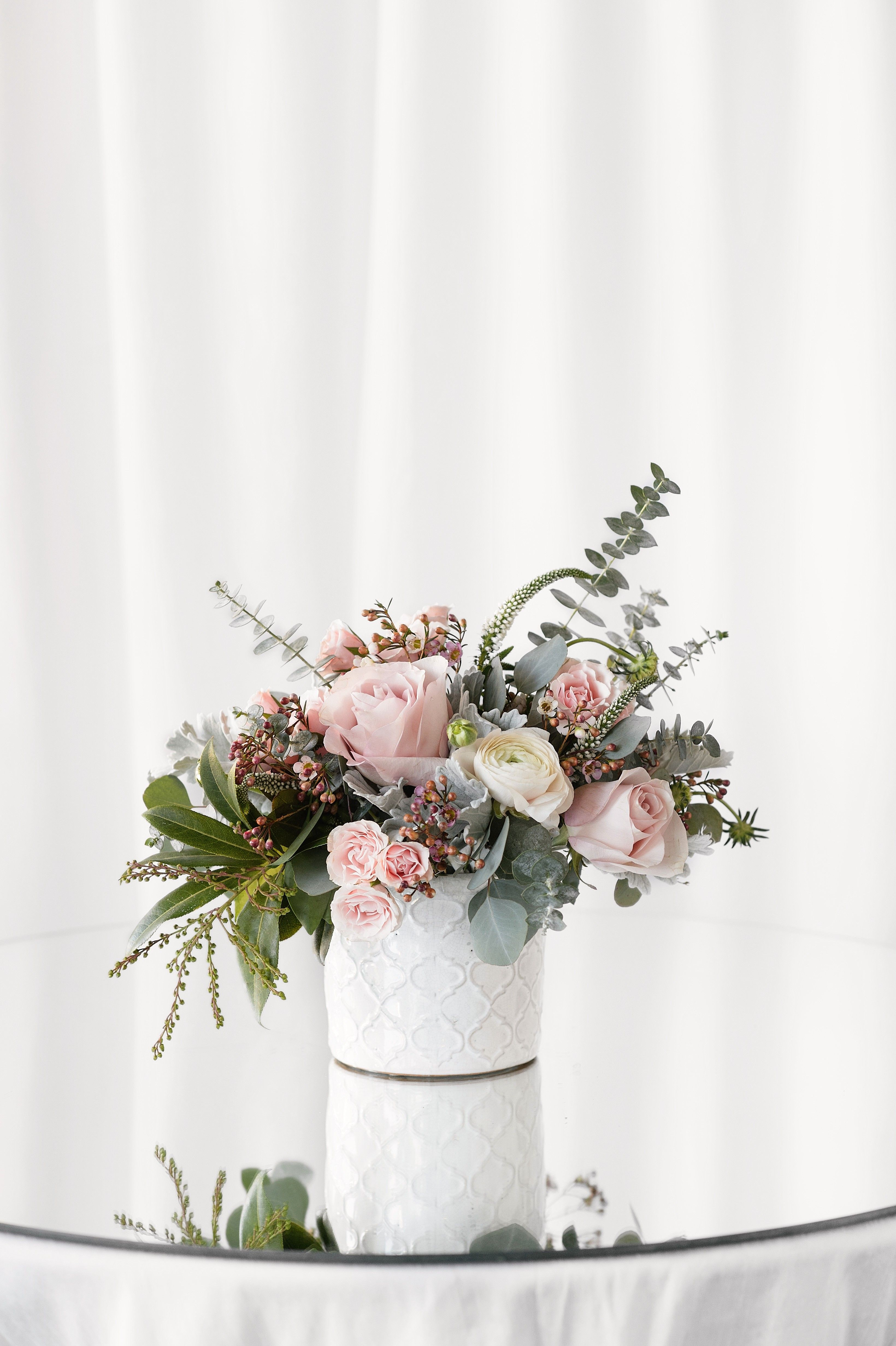 Emma by My Blooming Business Faux flower centerpiece
