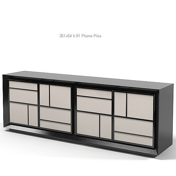 Baxter Plume Pisa modern contemporary chest of drawers commode. Baxter Plume Pisa modern contemporary chest of drawers commode