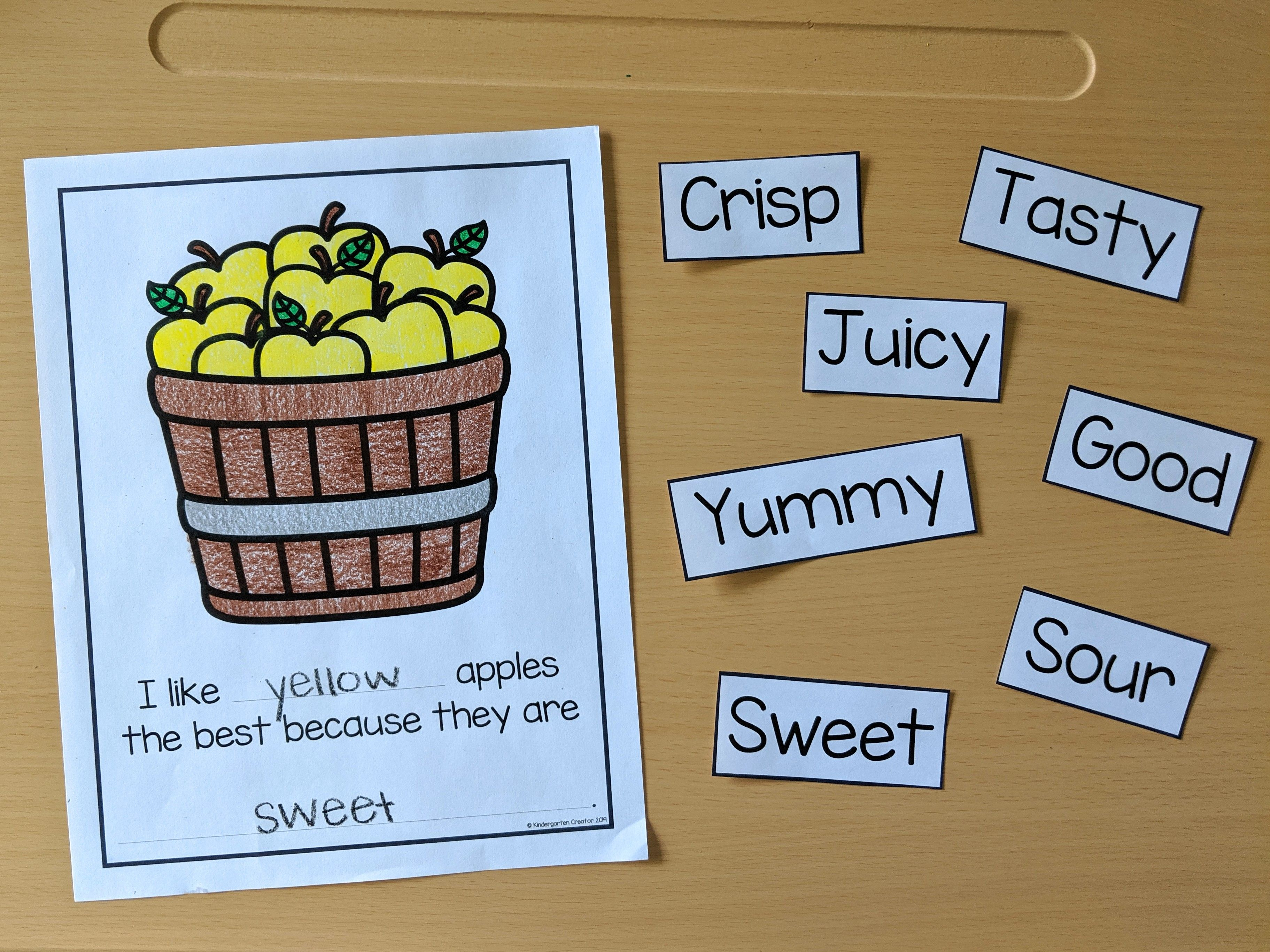 Apple Taste Test And Graphing Activity