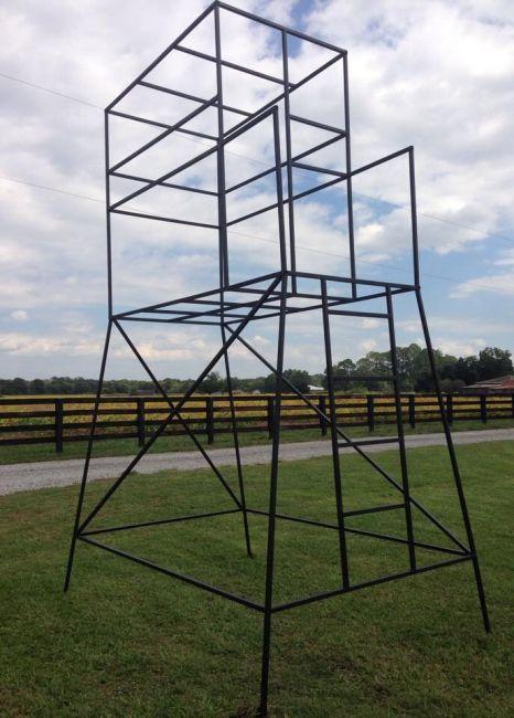 Deer Stand (metal Frame)   Louisiana Sportsman Classifieds, LA