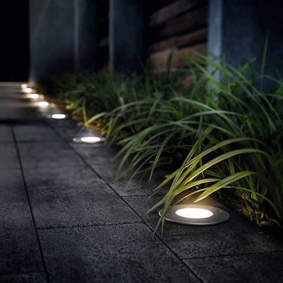 Un jardín con iluminación de cine - Leroy Merlin Landscape