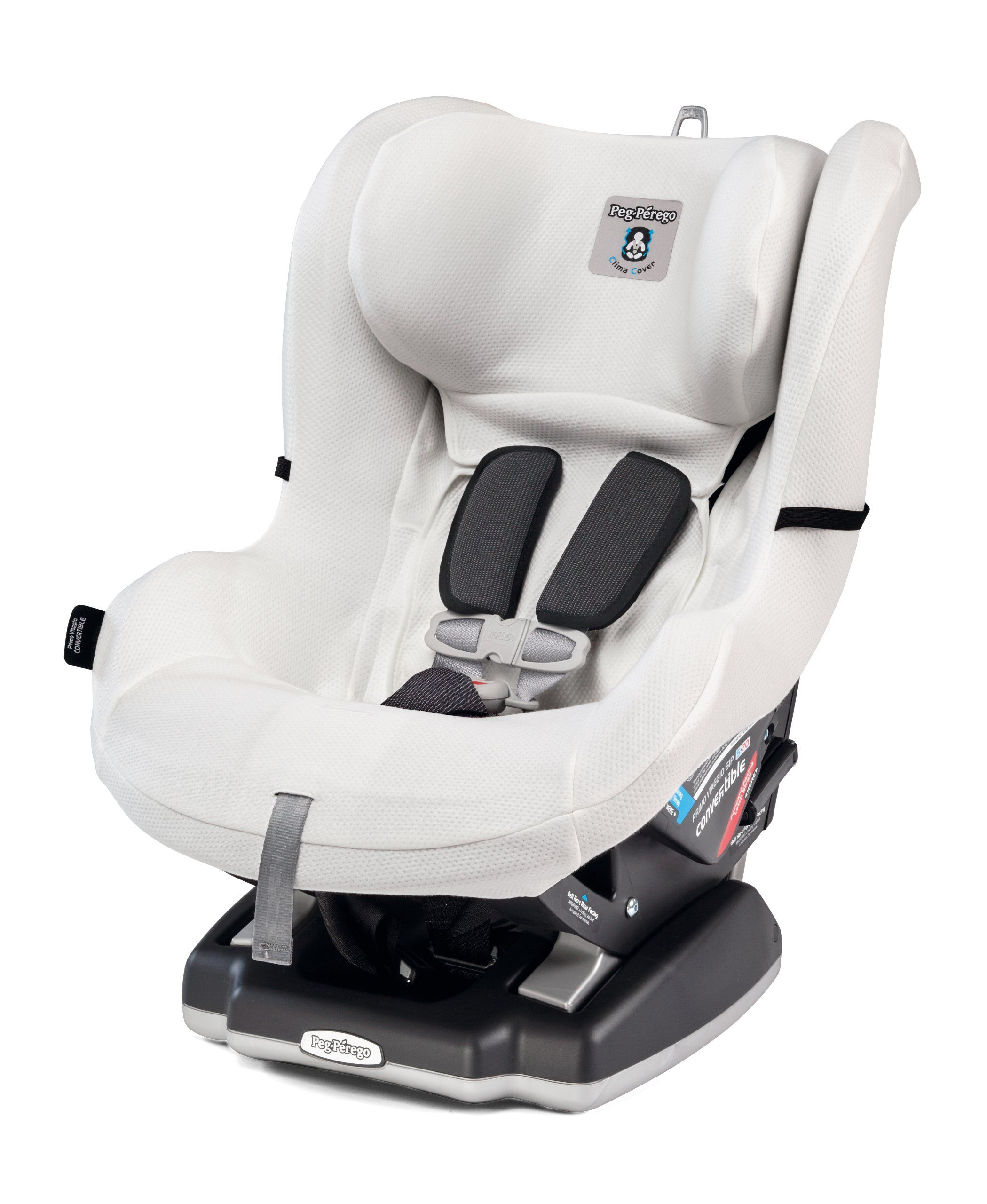 Peg Perego Convertible Clima Cover, White Car seats