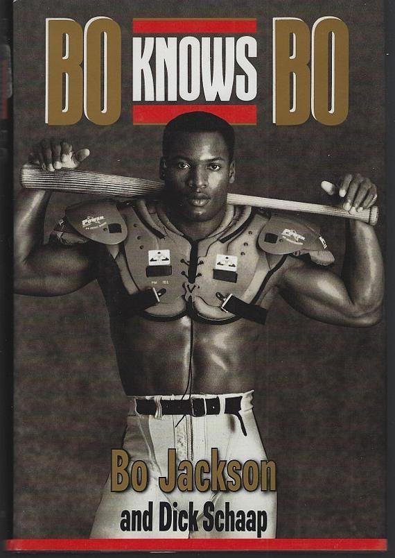 Bo Knows Bo Signed by Bo Jackson 1990 Autobiography Sports | Etsy