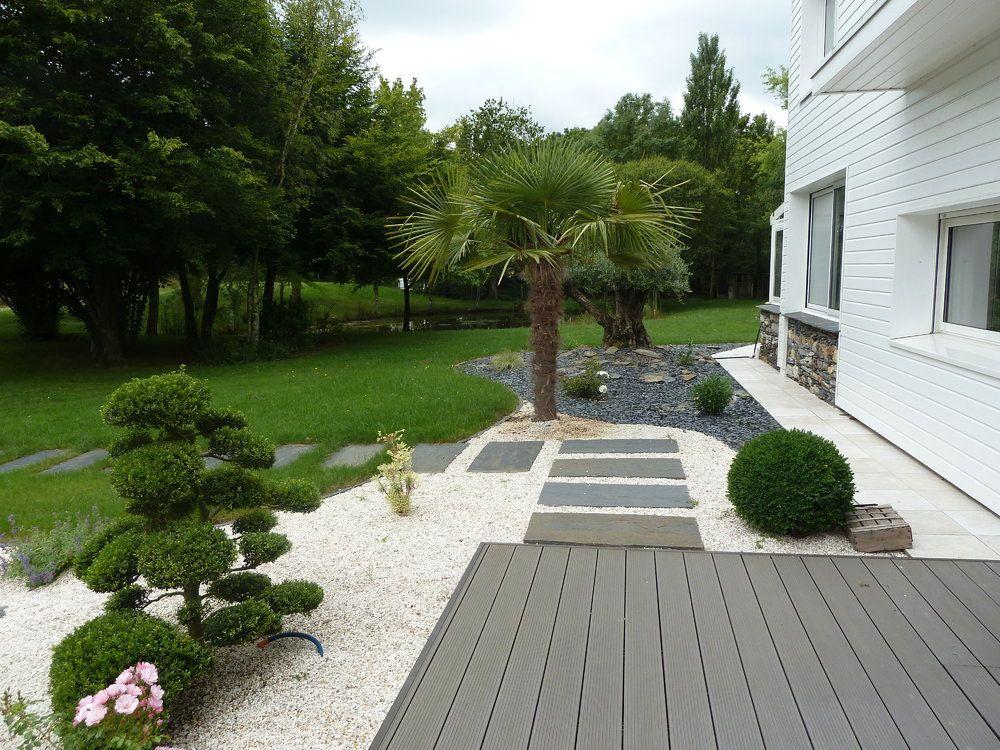 afficher limage dorigine jardins contemporainsjardin maisondalle ardoiseschistepas - Dalle D Ardoise Jardin