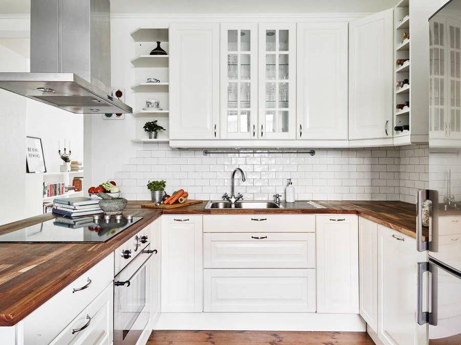 Cocina estilo nórdico / pequeñas reformas que hacen milagros ...