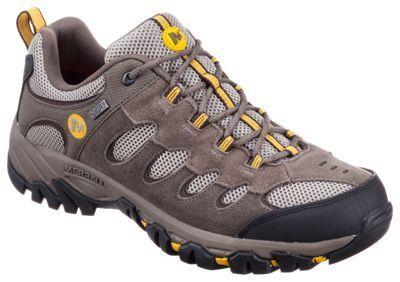 e71a11ef4a4 Merrell Ridgepass Low Waterproof Hiking Shoes for Men - Boulder/Old ...
