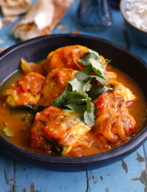 This Fish Curry Recipe Is Inspired By The Book Fish Indian Style By