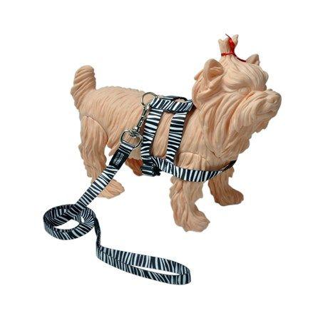 Peitoral E Guia Básico - Zebra - Multipatas - MeuAmigoPet.com.br #petshop #cachorro #cão #meuamigopet