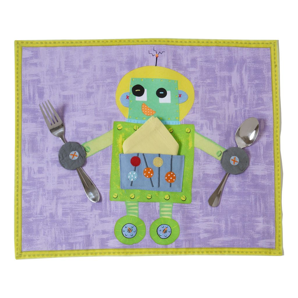 Green Robot Placemat $19.00