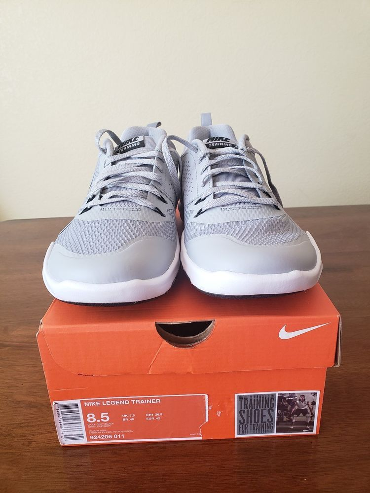 11c69eb17c9d NIKE LEGEND TRAINER SNEAKERS SZ 8.5GRAY  fashion  clothing  shoes   accessories  mensshoes  athleticshoes (ebay link)