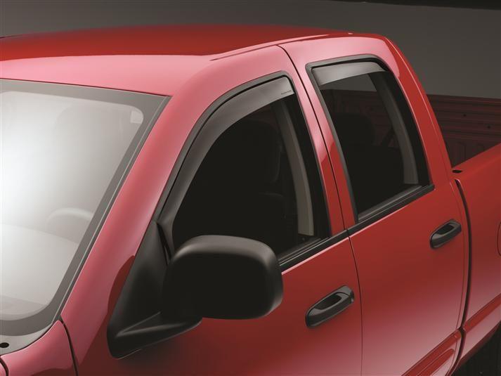 Dodge 2003 Ram Truck 1500 Side Window Deflectors Window Deflectors Weather Tech Side Window