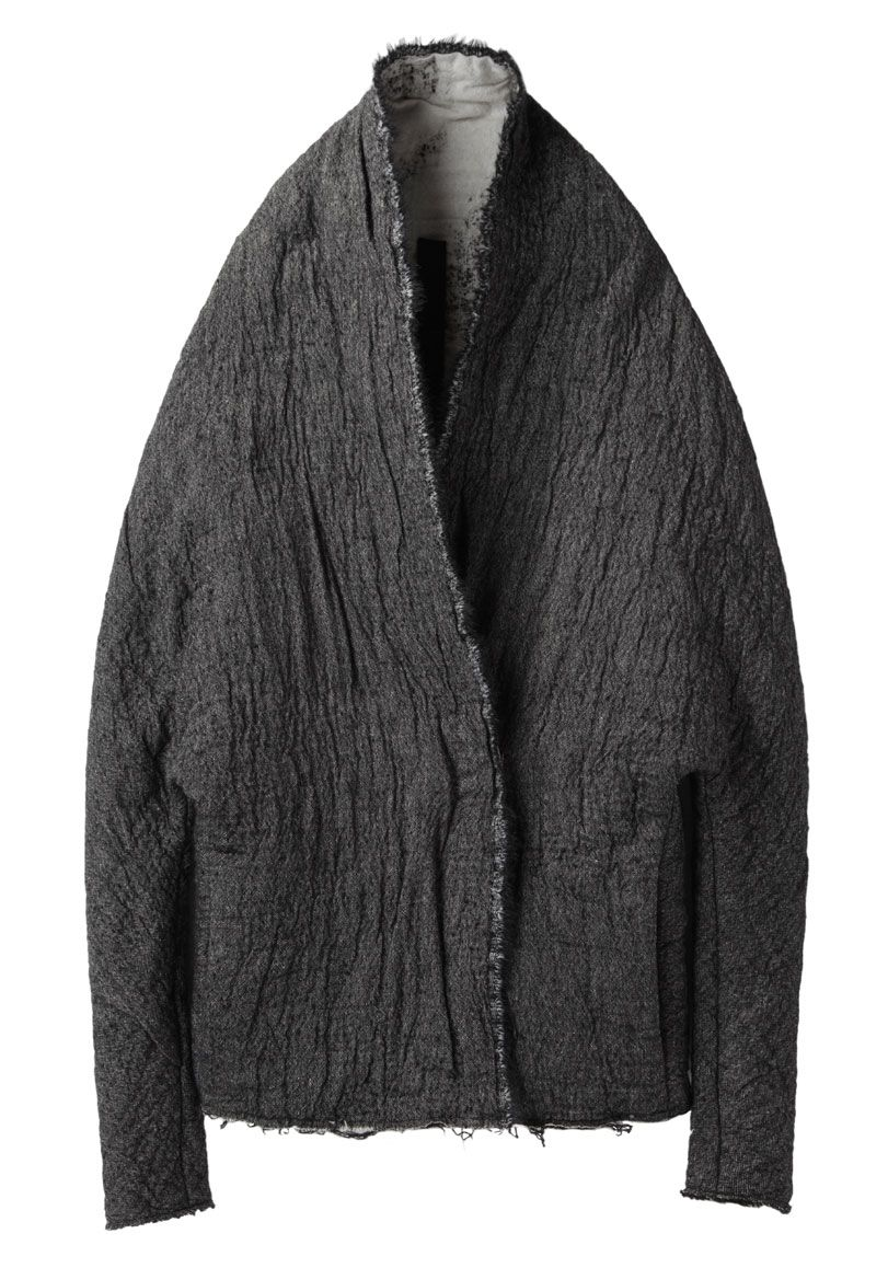 Visions of the Future // Forme d'Expression / Double Layered Batwing Coat