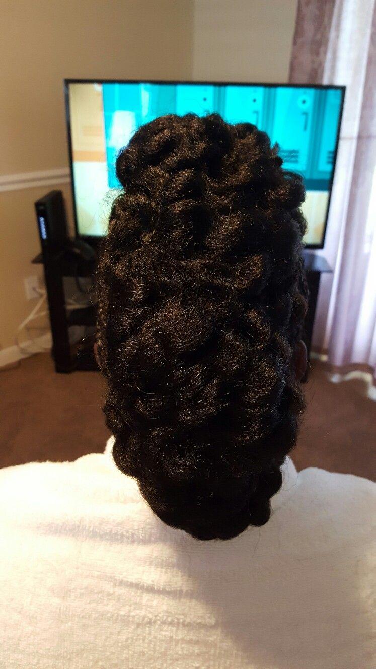 Crochet mohawk fb hairstylesbynickcola ig faithserenity