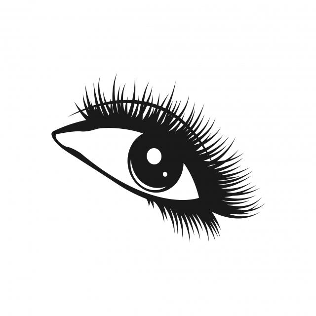 Eyelashes Logo Icon Design Template Vector, Icon, Graphic