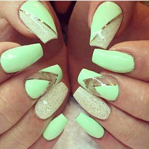 Green Summer Nails Neon Green Nails Green Nail Art Green Nails