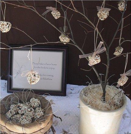 love birds wedding centerpieces   Edible Wedding Favors Centerpiece ...