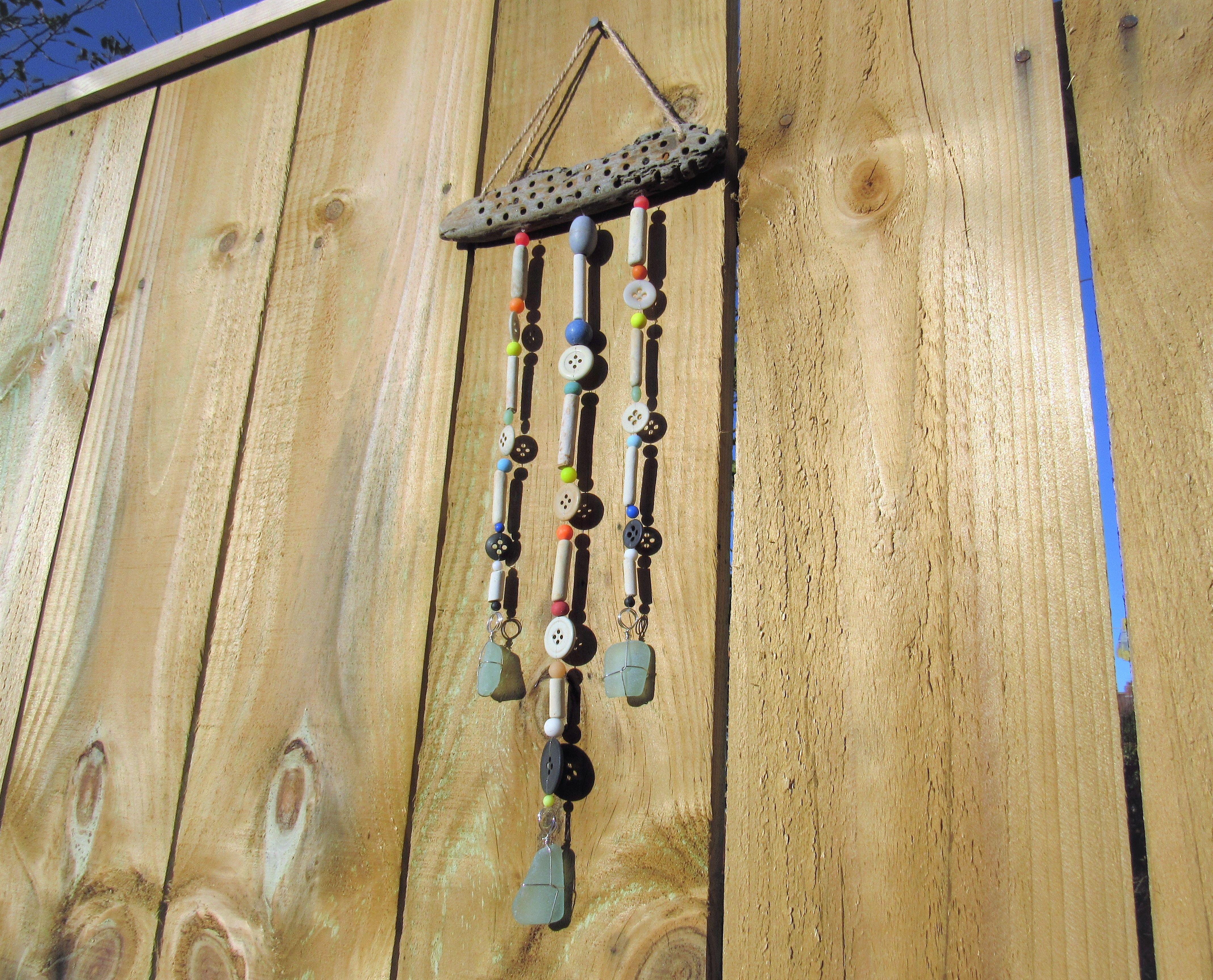 Beachcomber Wall Hanging! Beach Finds Art. Beach Suncatcher ...