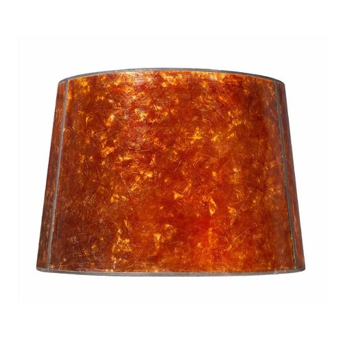 Mica Lamp Shade Amusing Amber Mica Lamp Shadediy With Sponge Paint Maybe  Diy Design Decoration