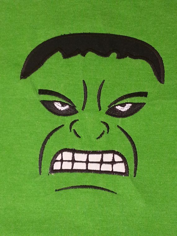 Hulk Face Birthdays Hulk Superhero Template Templates
