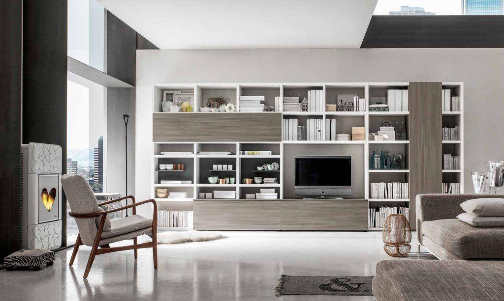 Libreria in laminato l c nel 2019 home decor for Mobili di design d occasione