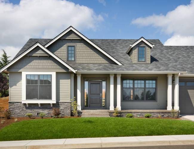 Mascord House Plan 22158 Open Concept