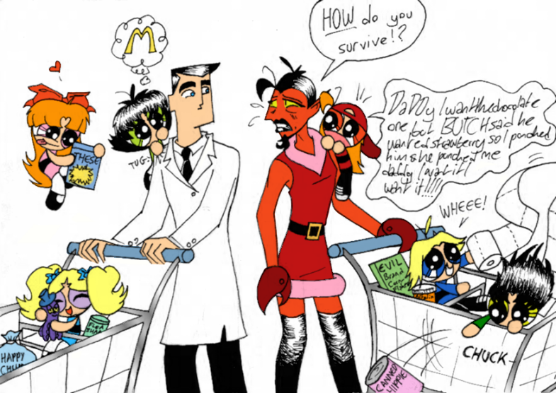 Dexters Lab tecknad serie Porr