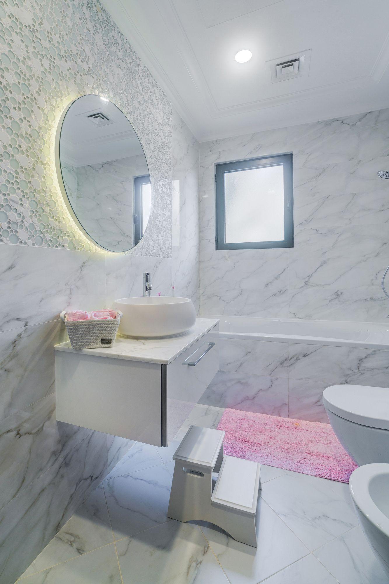 Lady Bathroom Renovation In Palm Jumeirah, Luxury Villa On