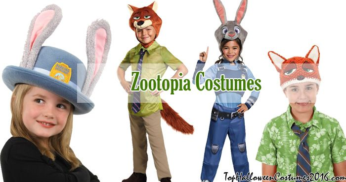 Zootopia Costumes: Zootopia Halloween Costumes