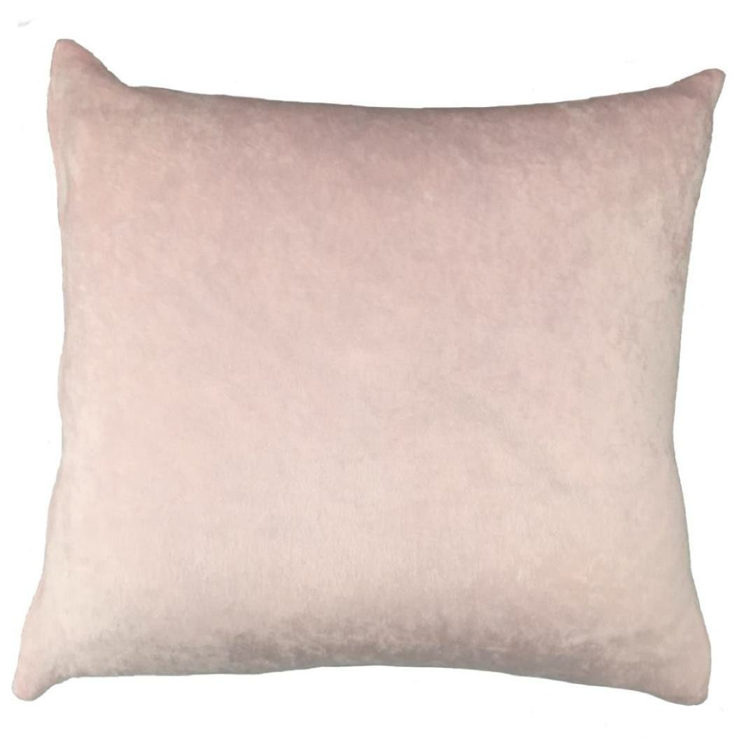 Blush Crushed Velvet Throw Pillow Products Pinterest Pillows