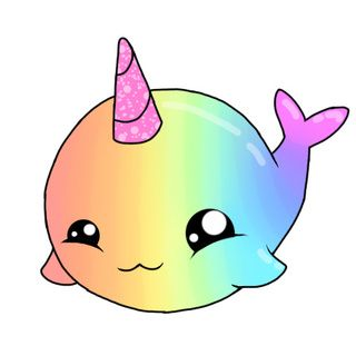 Rainbow Animated Narwhals Image result for narwh...