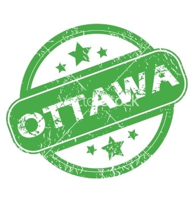 Ottawa green stamp vector | Illustrations in 2019 | Car