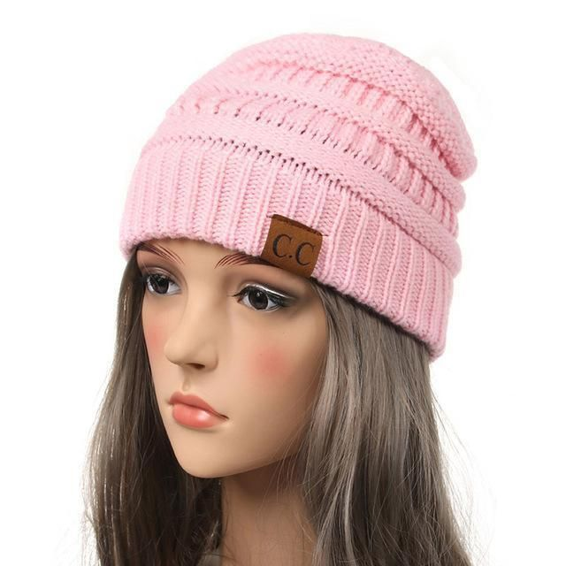 Soft Knit Slouchy Beanie #inspireuplift explore Pinterest