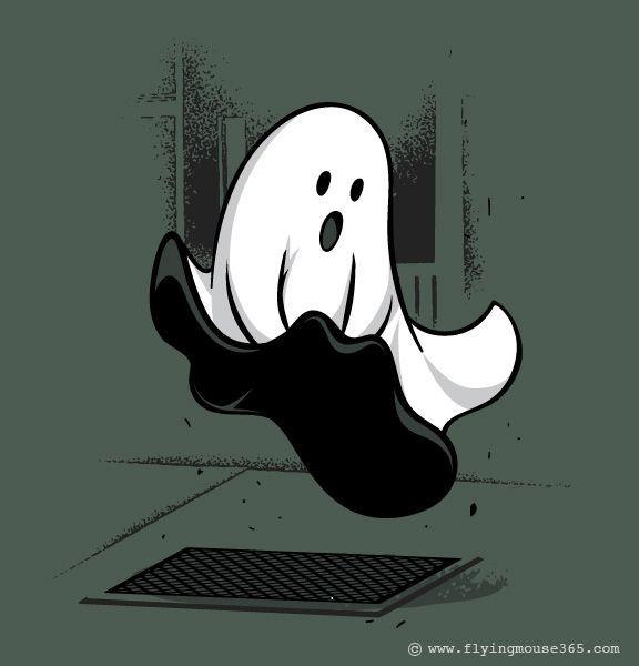 Открытка, картинки призраков прикольные