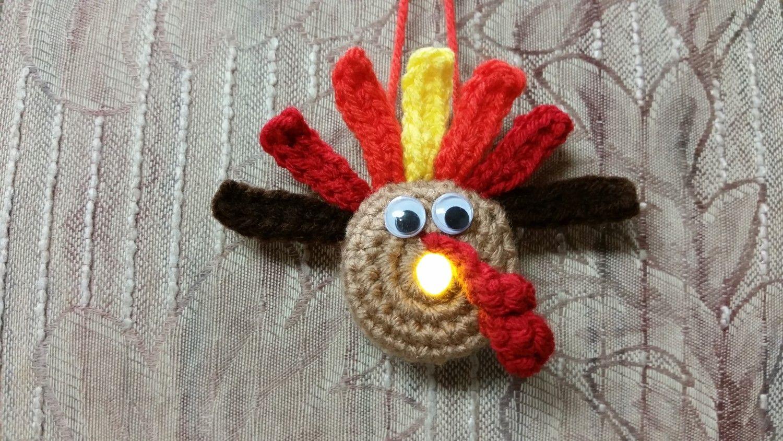 Lighted Turkey Ornament - Free Pattern | Moogly Community Board ...