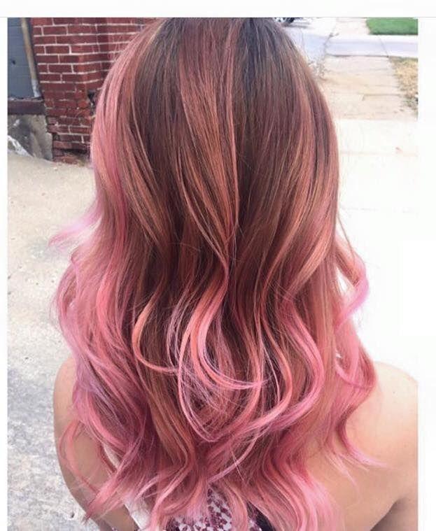 ombre pink hair color wwwpixsharkcom images