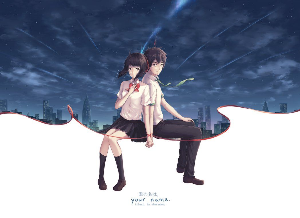 your name. #anime #movie | Anime films, Your name anime