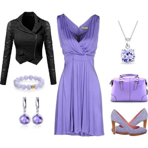 Lilac Love by amanda-o-twomey on Polyvore featuring moda, Versace, Sergio Rossi, Nest, Belk & Co. and Bling Jewelry