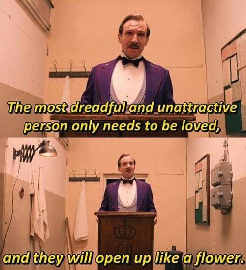 Grand Budapest Hotel Quotes Adorable Grand Budapest Hotel  Wes & Sofia  Pinterest  Grand Budapest